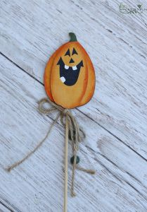 Pumpkin on stick