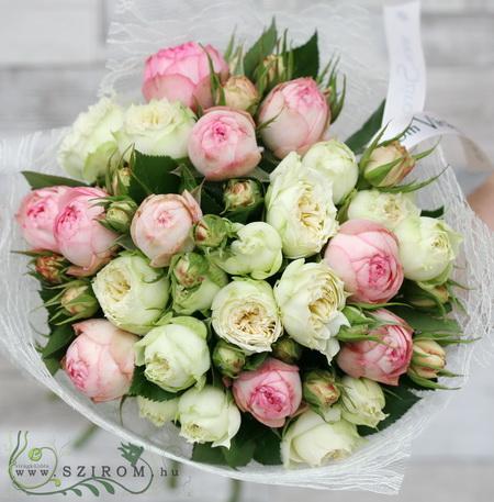 Angol rózsák (15 szál) - virágküldés